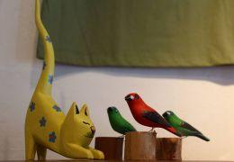 É possível ter gatos e passarinhos na mesma casa?