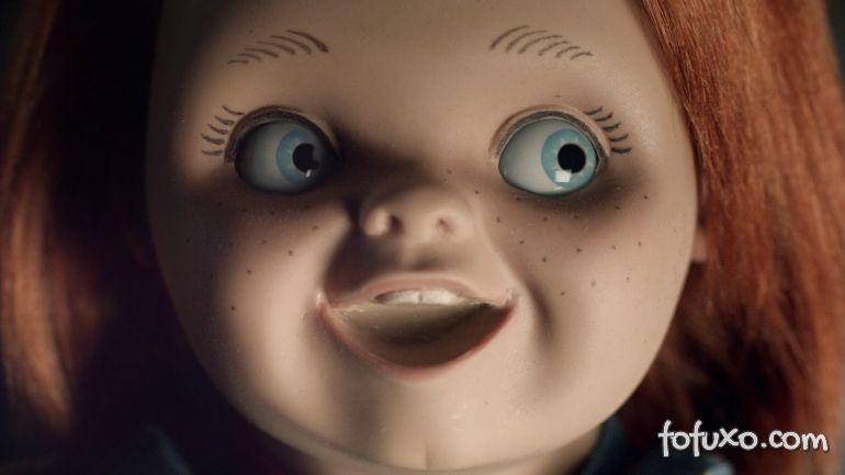 Conheça o cachorro que morre de medo do Chucky
