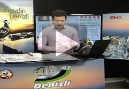 Gato invade estúdio de televisão