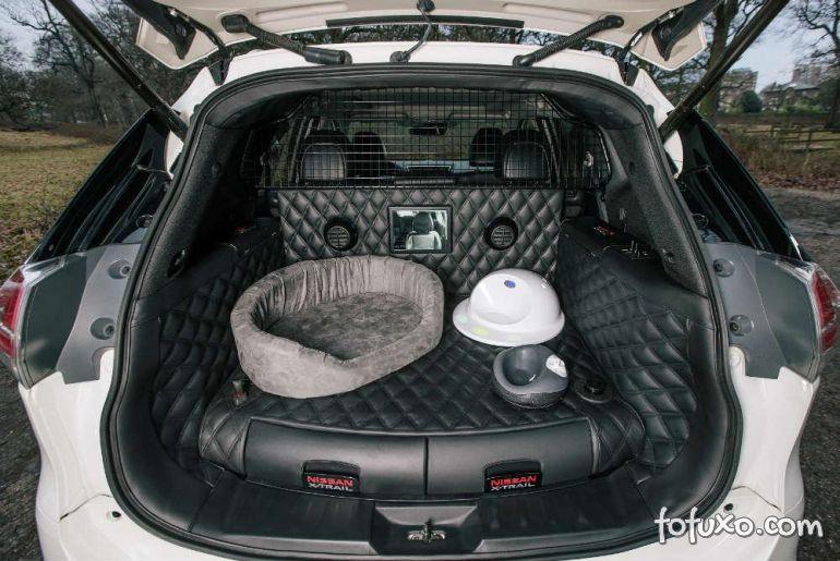 Nissan apresenta carro ideal para cachorro