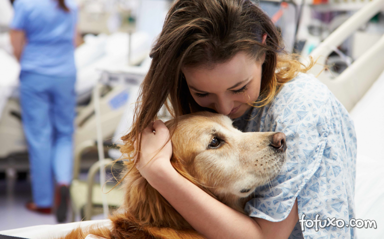 Pessoas com problema de saúde criam mais vínculo com animais