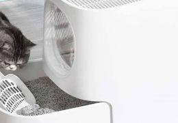Xiaomi lança caixa de areia para gatos com sistema contra odores fortes