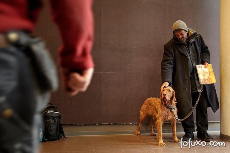 Fotos mostram amor de moradores de rua por seus cães - Foto 7