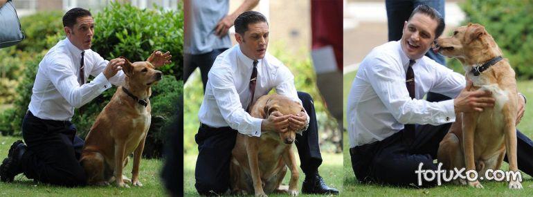 Tom Hardy faz homenagem emocionante após morte de cachorro