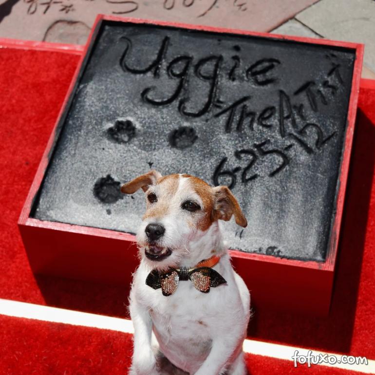 """Cachorro do filme """"O Artista"""" ganha homenagem póstuma"""