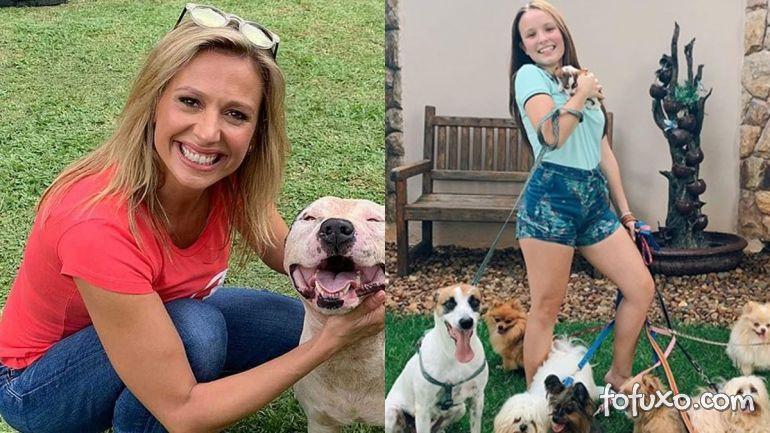 Luísa Mell lamenta doação de cachorro por Larissa Manoela